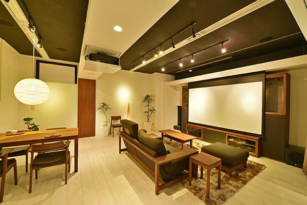 ホームシアターのAURAS東京
